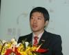 """锐珂医疗HCIS大中华区产品经理 李剑做了主题为""""应用云技术助力中小医院建设影像信息网络""""的演讲。"""