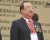 CEMF65开幕式现场,中国医学装备协会理事长朱庆生出席开幕式。